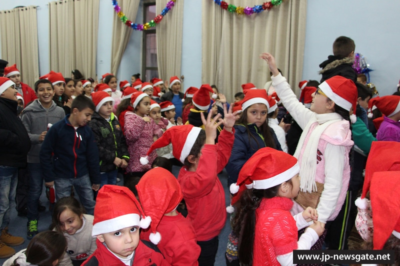 Christmas event at St Demetrius School