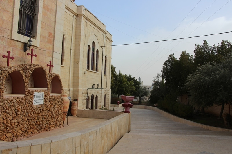 View of the Monastery of the Shepherds