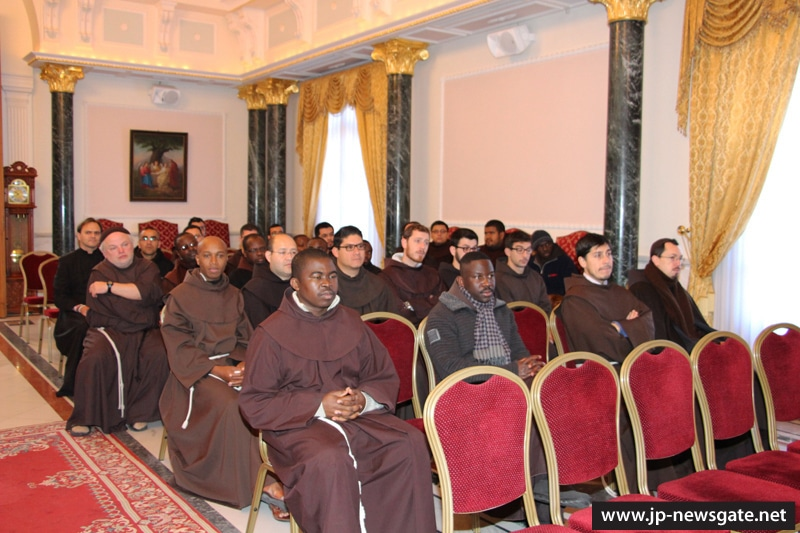 The Franciscans visit the Patriarchate