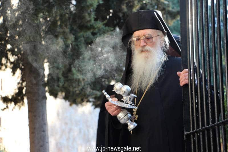 Archimandrite Theodoritos, hegumen at St Simeon Monastery