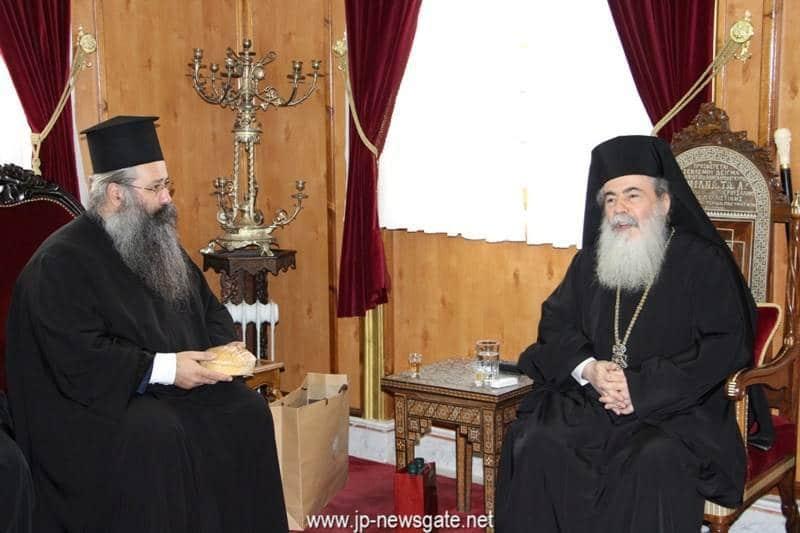 H.B. with Metropolitan Georgios of Katerini