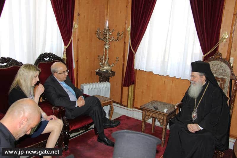 Meeting between H.B. and Mr Yiannakis Omirou