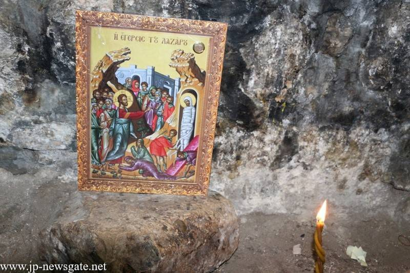 SATURDAY OF LAZARUS AT THE MONASTERY OF MARTHA AND MARIA