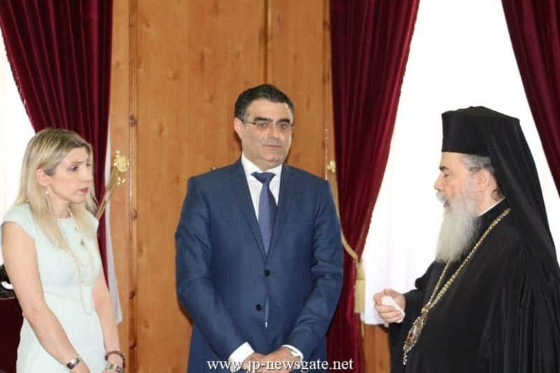 The Patriarch, the Minister and Ms Shambos