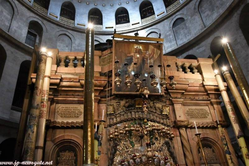 Antipascha at the Holy Sepulchre