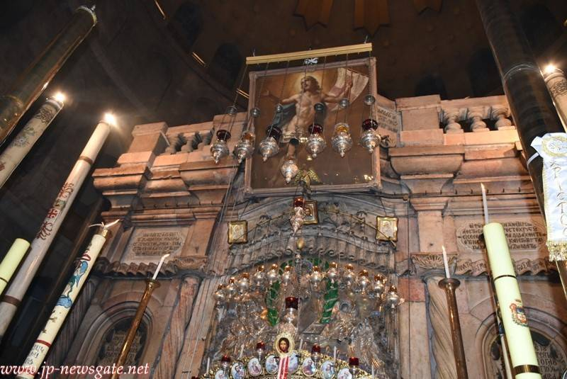 The Aedicula of the Holy Sepulchre
