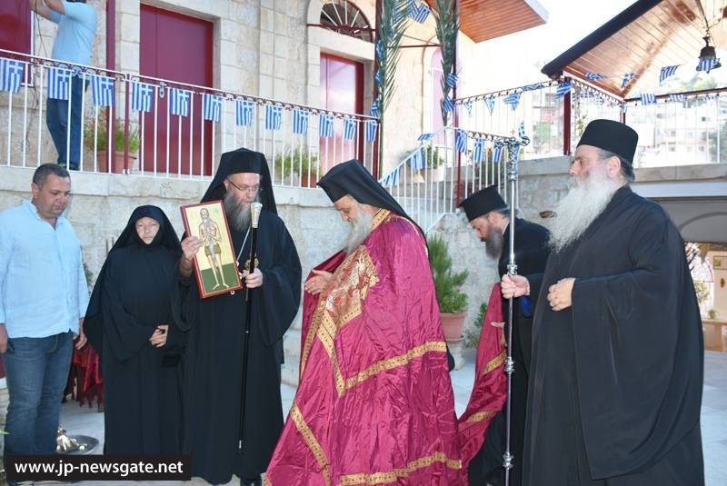 The Archbishop of Lydda during Vespers