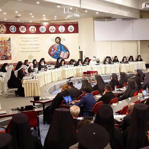 The opening Session of the Synod at the Orthodox Academy of Grete