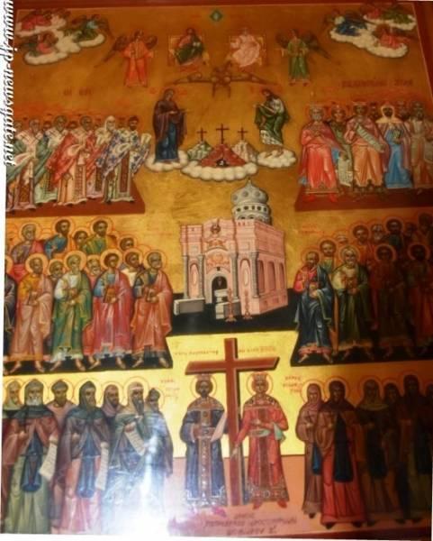 The icon of Palestine's saints