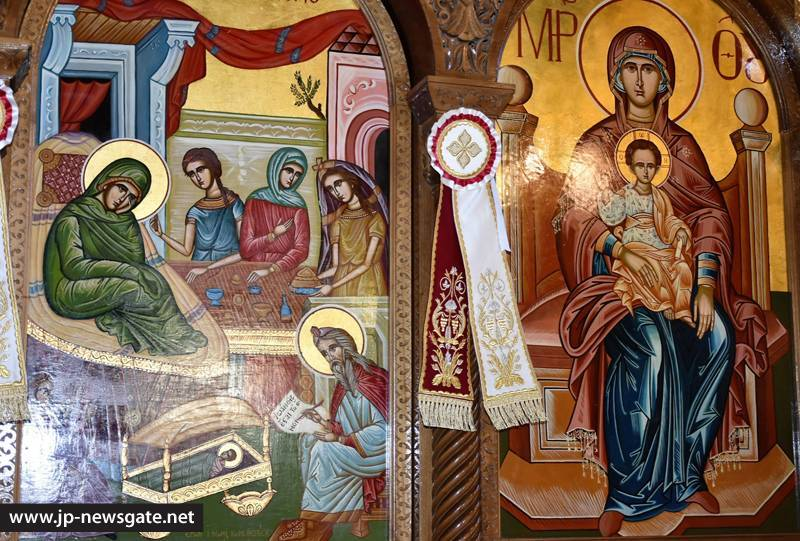 The feast of the Nativity of the Forerunner