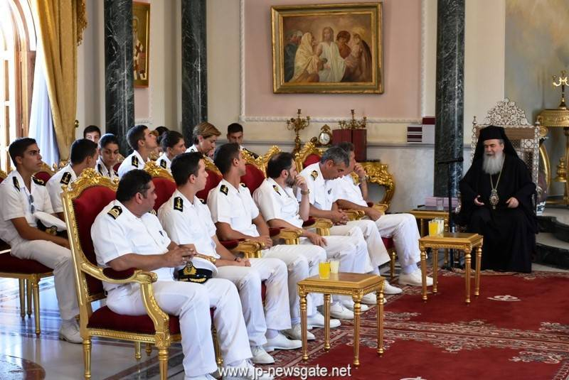 A delegation of the Hellenic Navy visits the Patriarchate