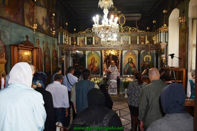 Divine Liturgy at the Monastery of Sts Joachim and Anne