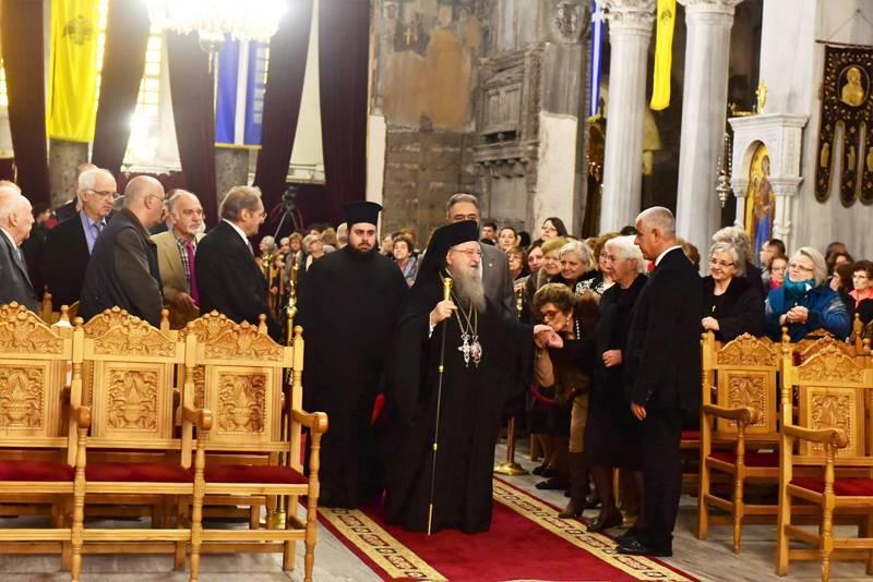 The Most Reverend Metropolitan Anthimos of Thessaloniki