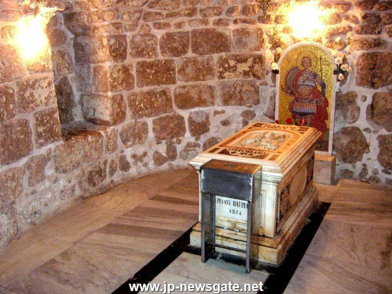 St George's tomb in Lydda