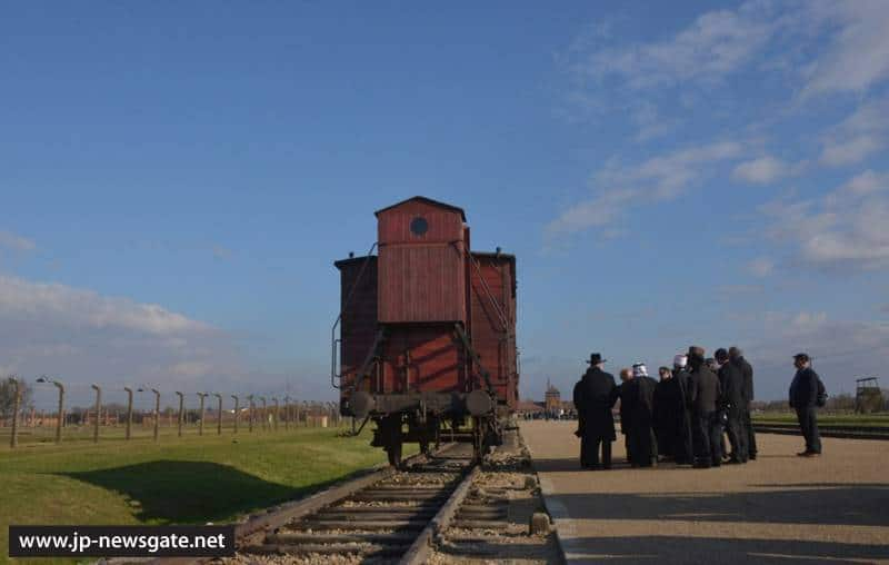 The leaders of religious communities in Israel visit Auschwitz and Birkenau camps