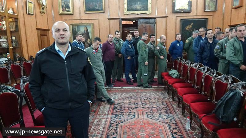 The 383 Special Operations and Air Fire Fighting Squadron at the Patriarchate