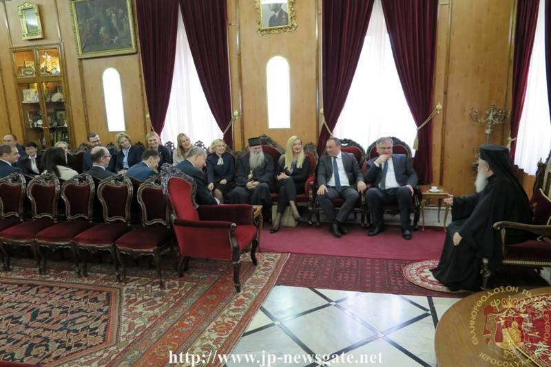 The visit of the President of Bosnia-Herzegovina Mr. Mladen Icanic