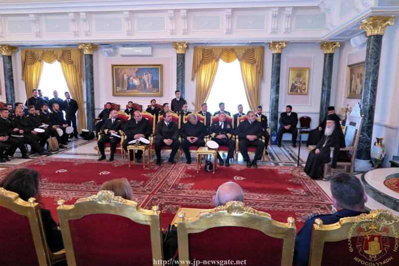 Visit of the Greek Navy at the Patriarchate
