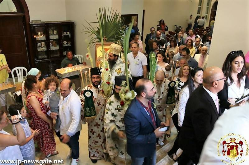 Palm Sunday at the Holy Archdiocese of Qatar