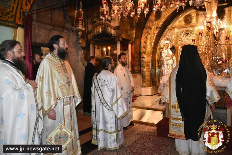 The Divine Liturgy at the Horrendous Golgotha