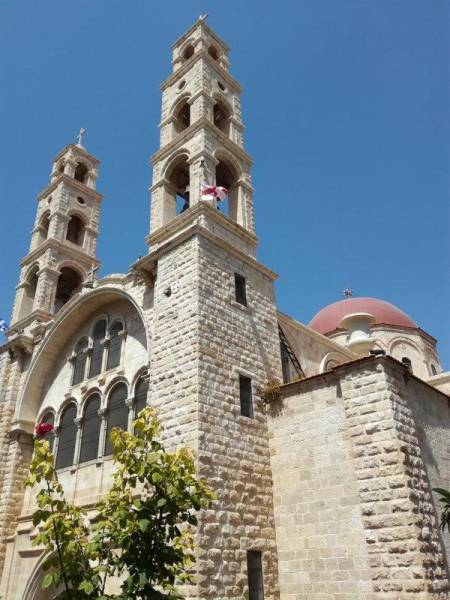 Church of the Annunciation the Theotokos also located in Rafidia