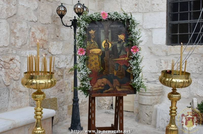 The feast of the Beheading of St. John the Forerunner at his Monastery