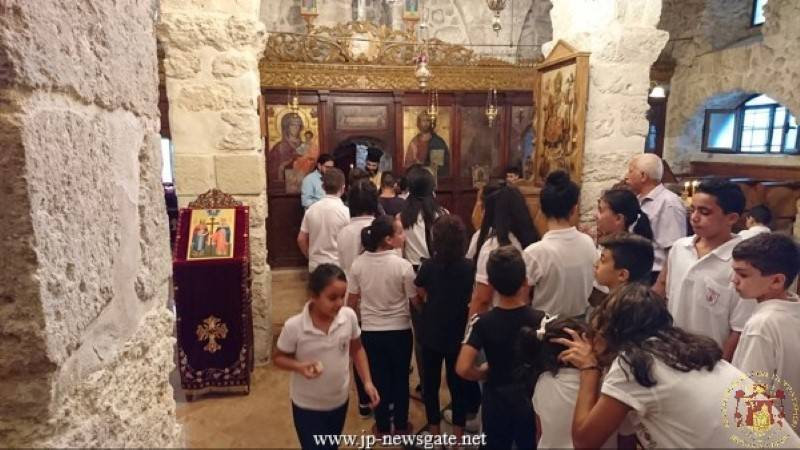 The Israeli Military Administration of Bethlehem Kfar Etzion visits the Patriarchate