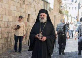 The Hegoumen of the Shrine Archimandrite Meletios