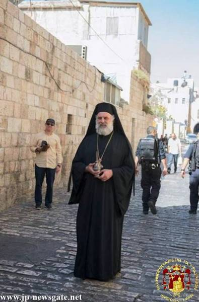 The Hegoumen of the Shrine Archimandrite Meletios