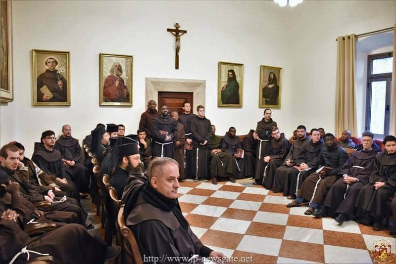 Visit of the Hagiotaphite Brotherhood to the Franciscan Brotherhood
