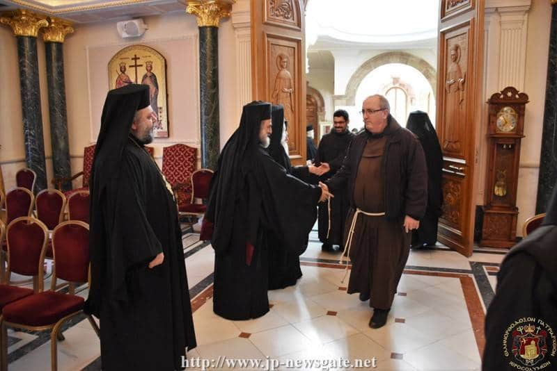 Visit of the Franciscan Brotherhood to the Patriarchate
