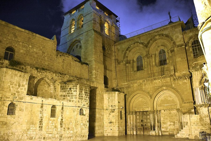 The Holy Courtyard