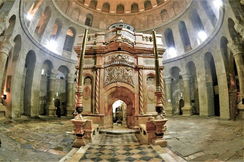 he Holy Sepulchre and the All-holy Church of the Resurrection